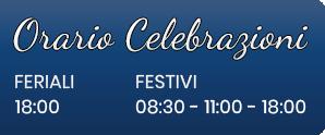 Orario Celebrazioni